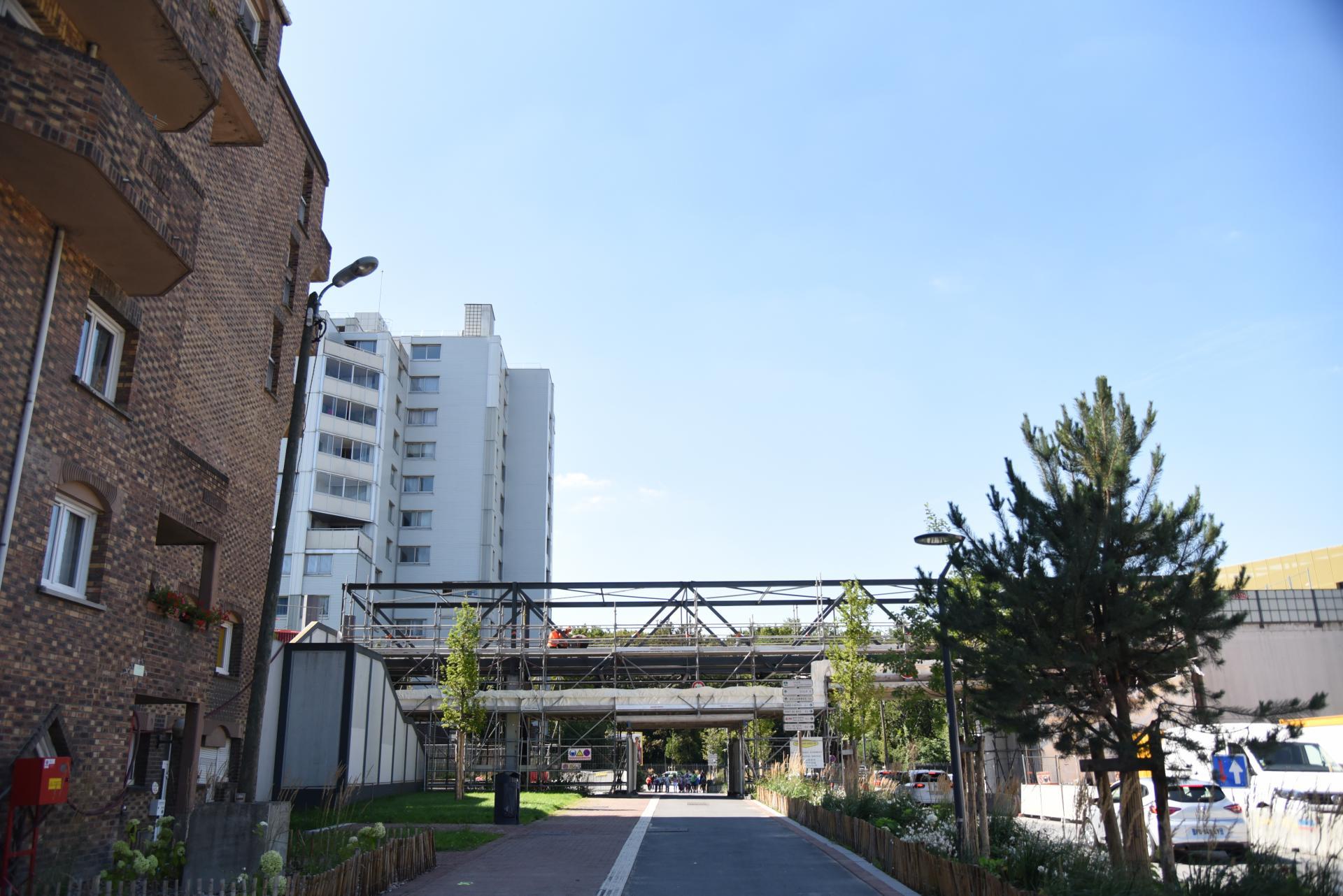 Passerelle rue des Vétérans