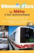 Apercu Exposition Le Métro c'est automatique - les origines du VAL 1969 - 1983