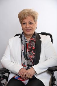 Lahanissa Madi  adjointe au Maire du secteur ouest (Hôtel de Ville - Pont de Bois / Château - Bourg - Près)
